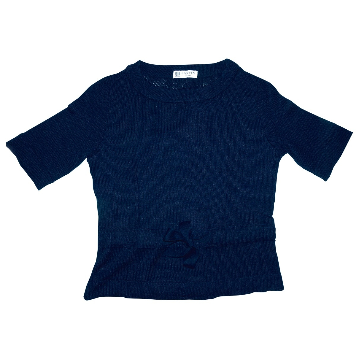 Lanvin - Pull   pour femme - bleu