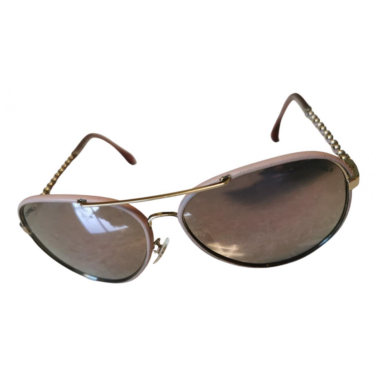Chanel \N Sonnenbrillen in  Rosa Metall