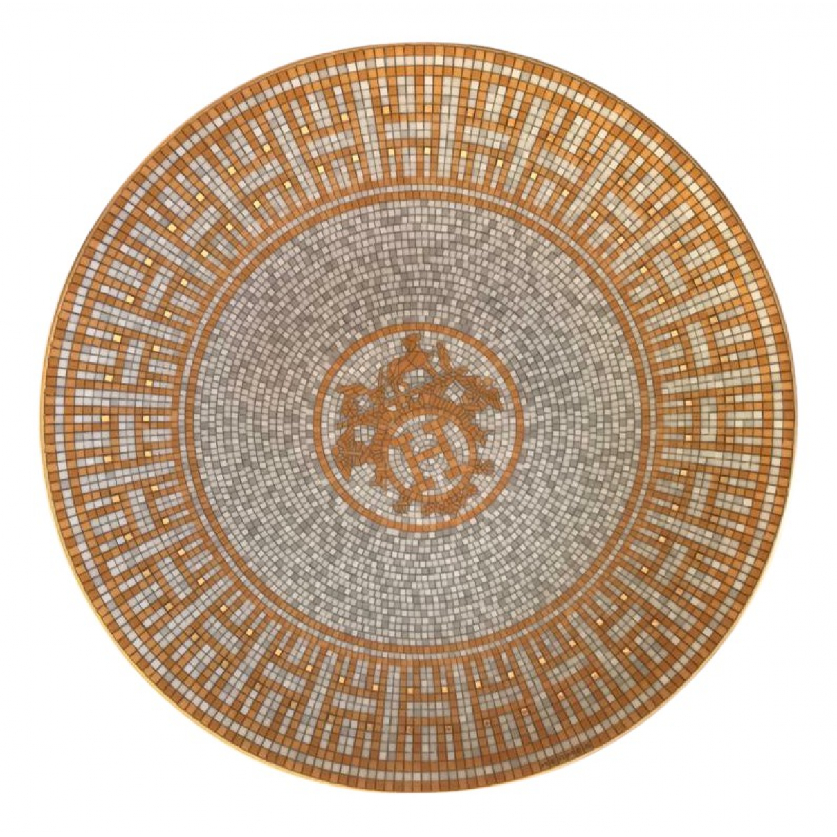 Hermes - Arts de la table Mosaique au 24 pour lifestyle en porcelaine - multicolore