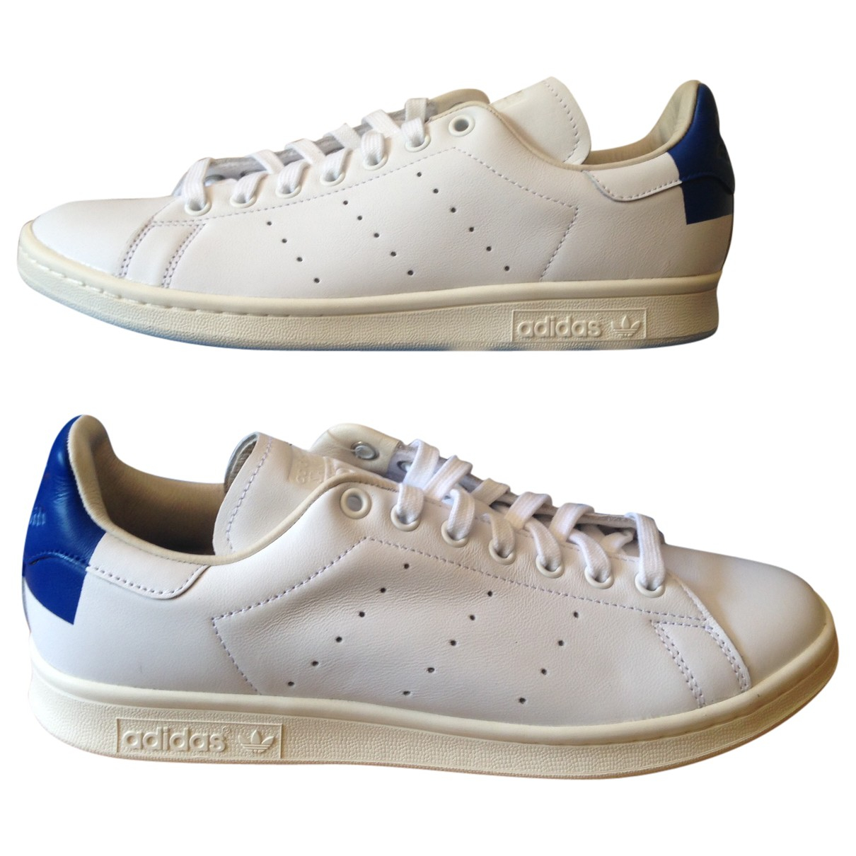 Adidas - Baskets Stan Smith pour homme en cuir - blanc