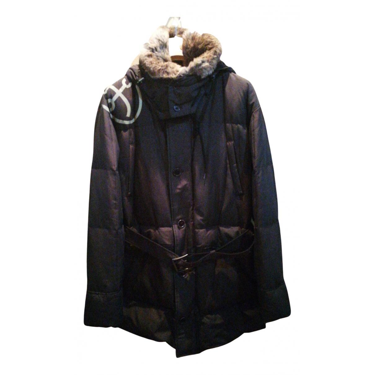 Jc De Castelbajac - Manteau   pour homme en coton - marron