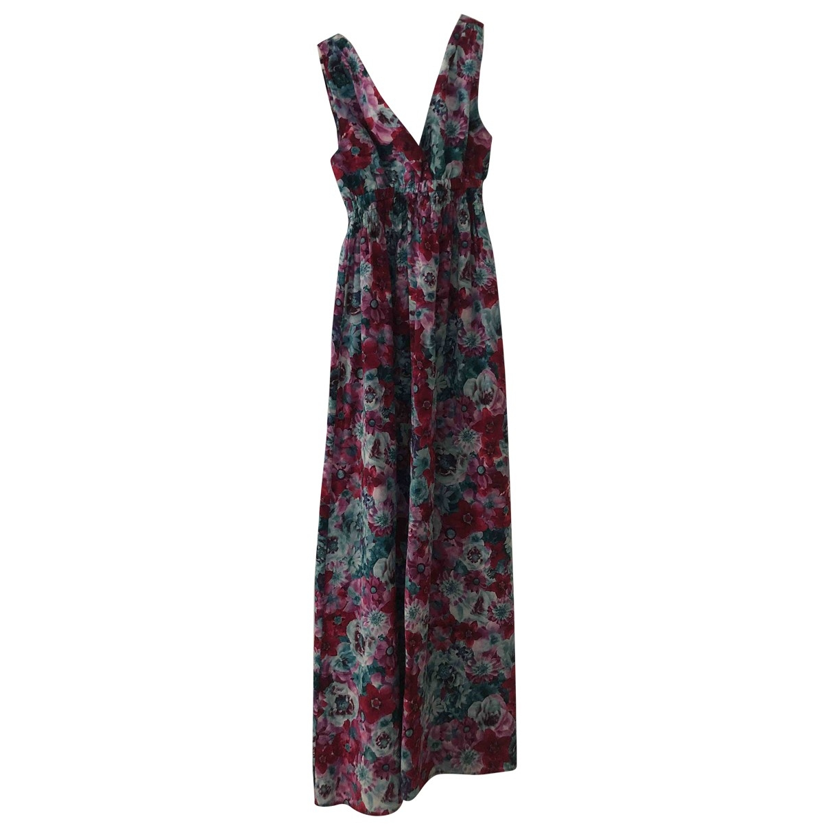 Flavio Castellani - Robe   pour femme en soie - multicolore