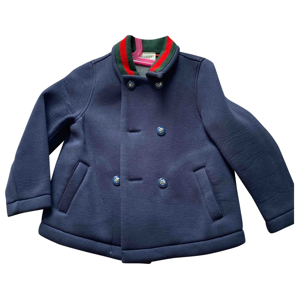 Gucci \N Blue jacket & coat for Kids 3 years - until 39 inches UK