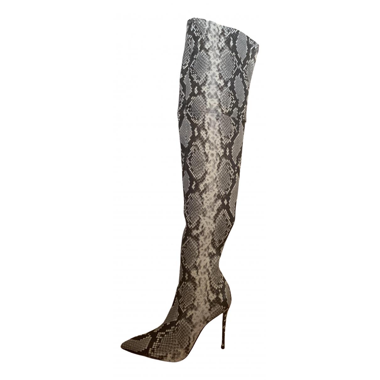Casadei - Bottes   pour femme en cuir
