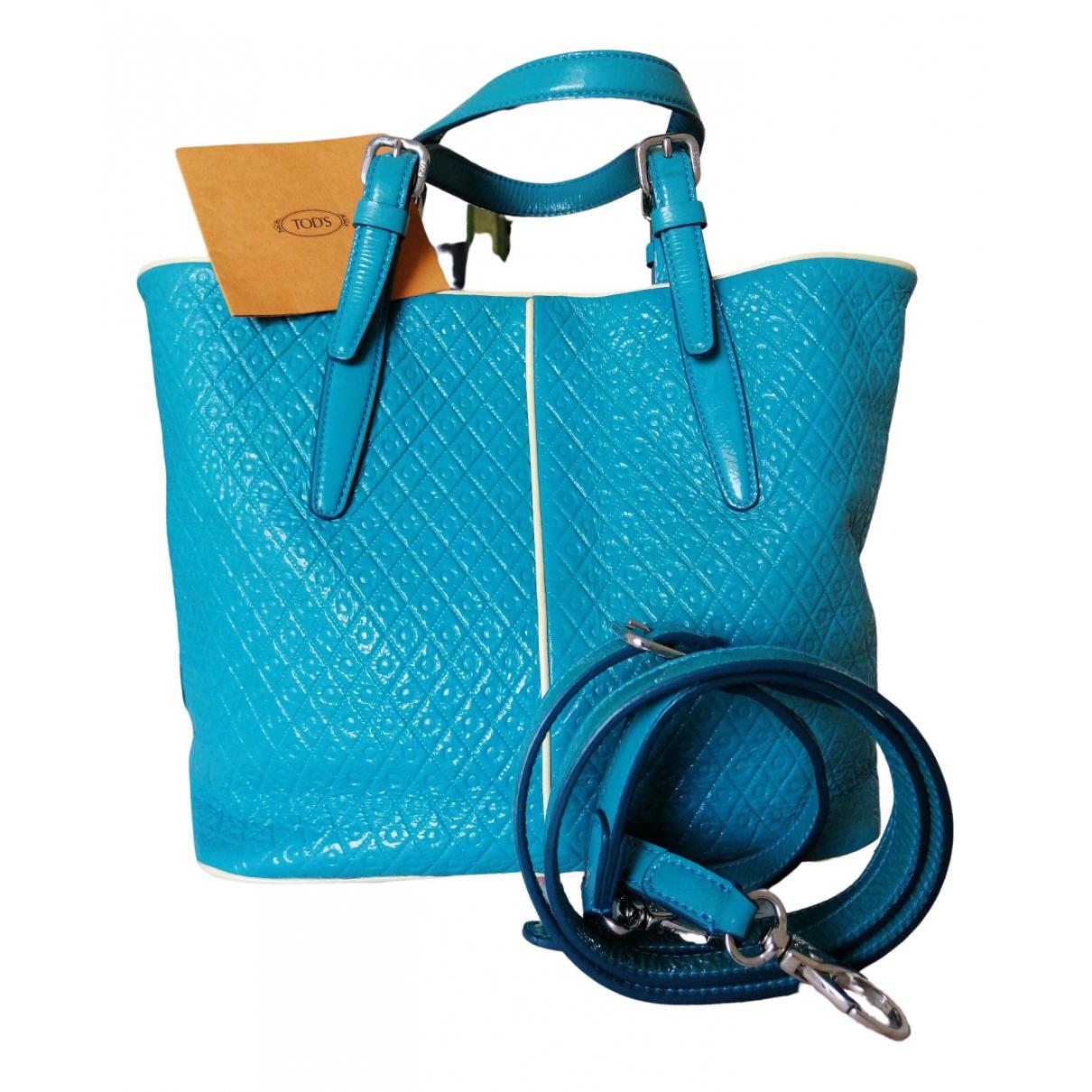 Tod's \N Turquoise handbag for Women \N