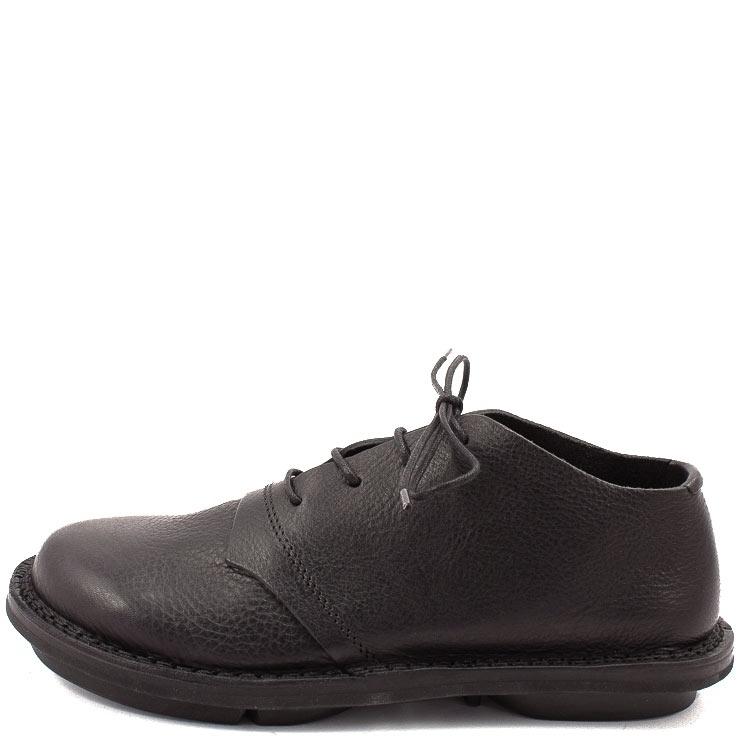 Trippen, Tristan m Closed Men's Lace-up Shoes, black Größe 39