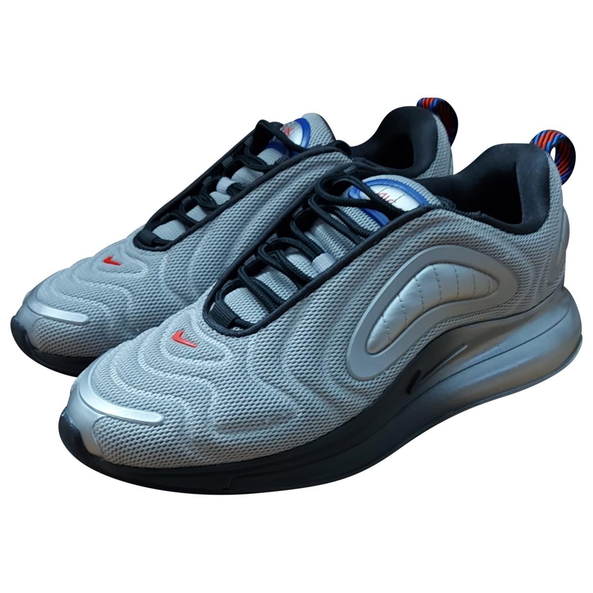 Nike - Baskets Air Max 720 pour femme en toile - gris