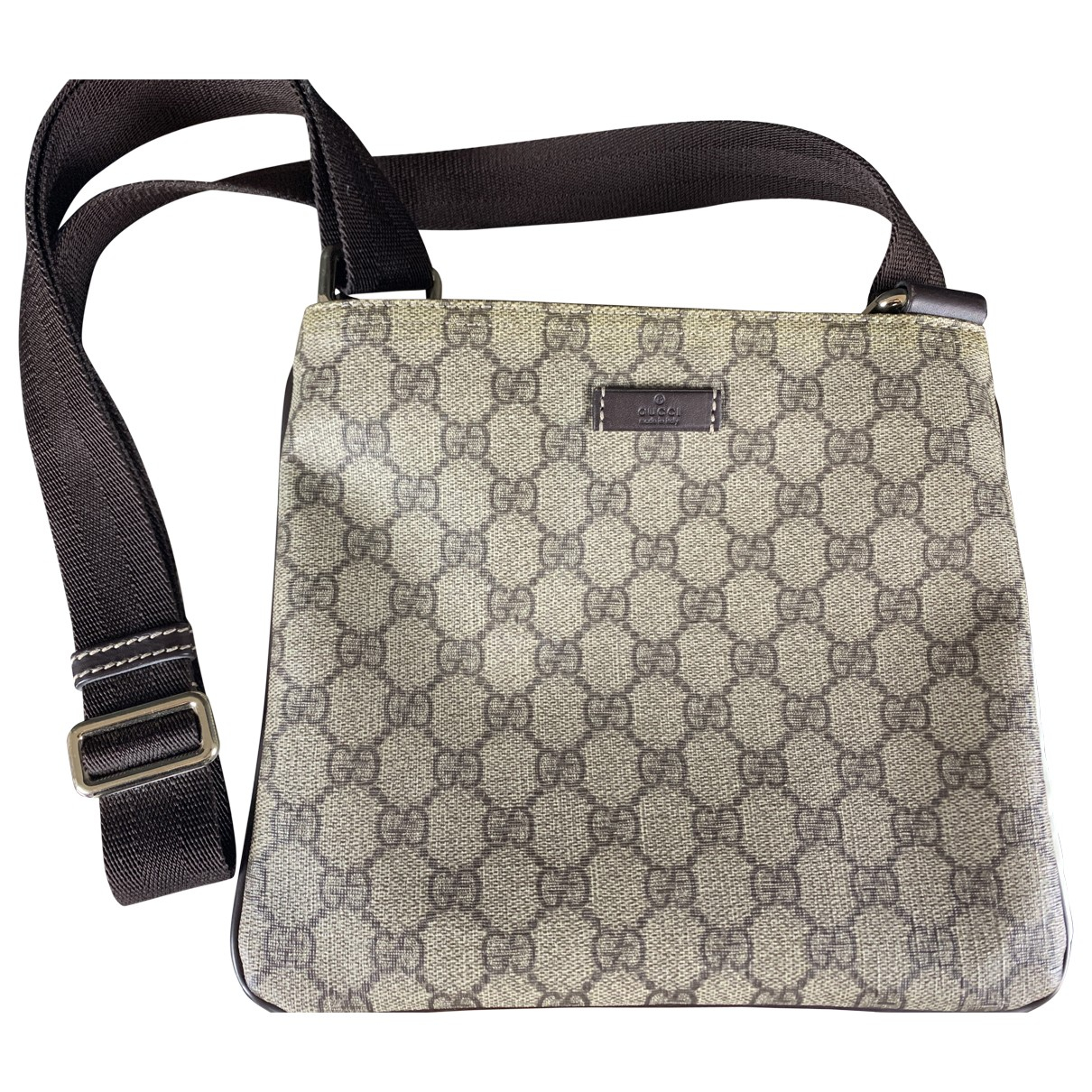 Gucci \N Cloth Small bag, wallet & cases for Men \N