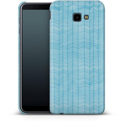 Samsung Galaxy J4 Plus Smartphone Huelle - Fishbone von caseable Designs