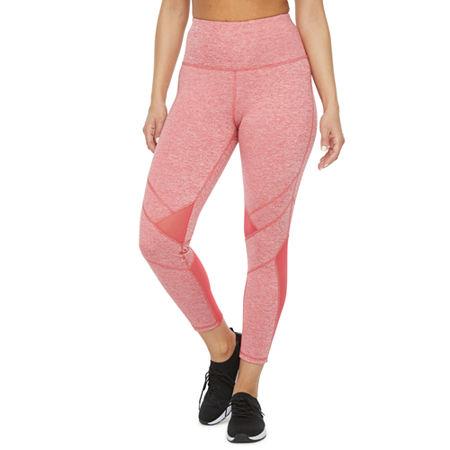 Xersion Train Womens High Rise Slim Legging, X-large , Red