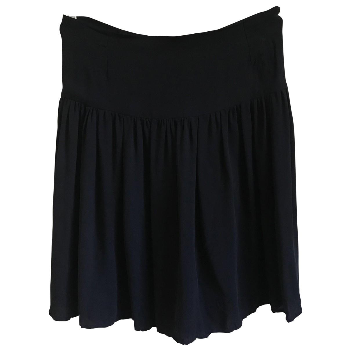 Joseph \N Black Silk skirt for Women 36 FR