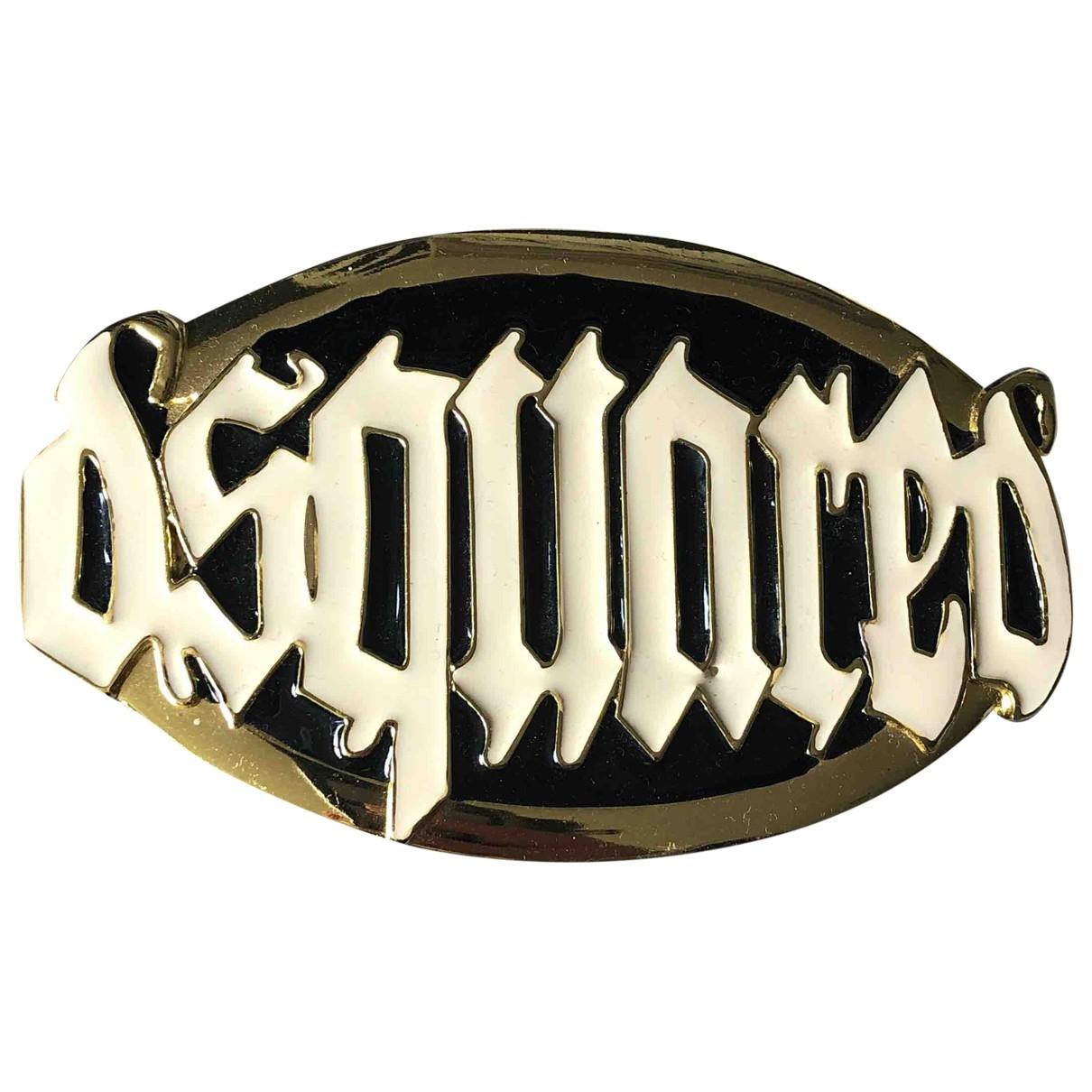 Dsquared2 \N Guertel in Metall