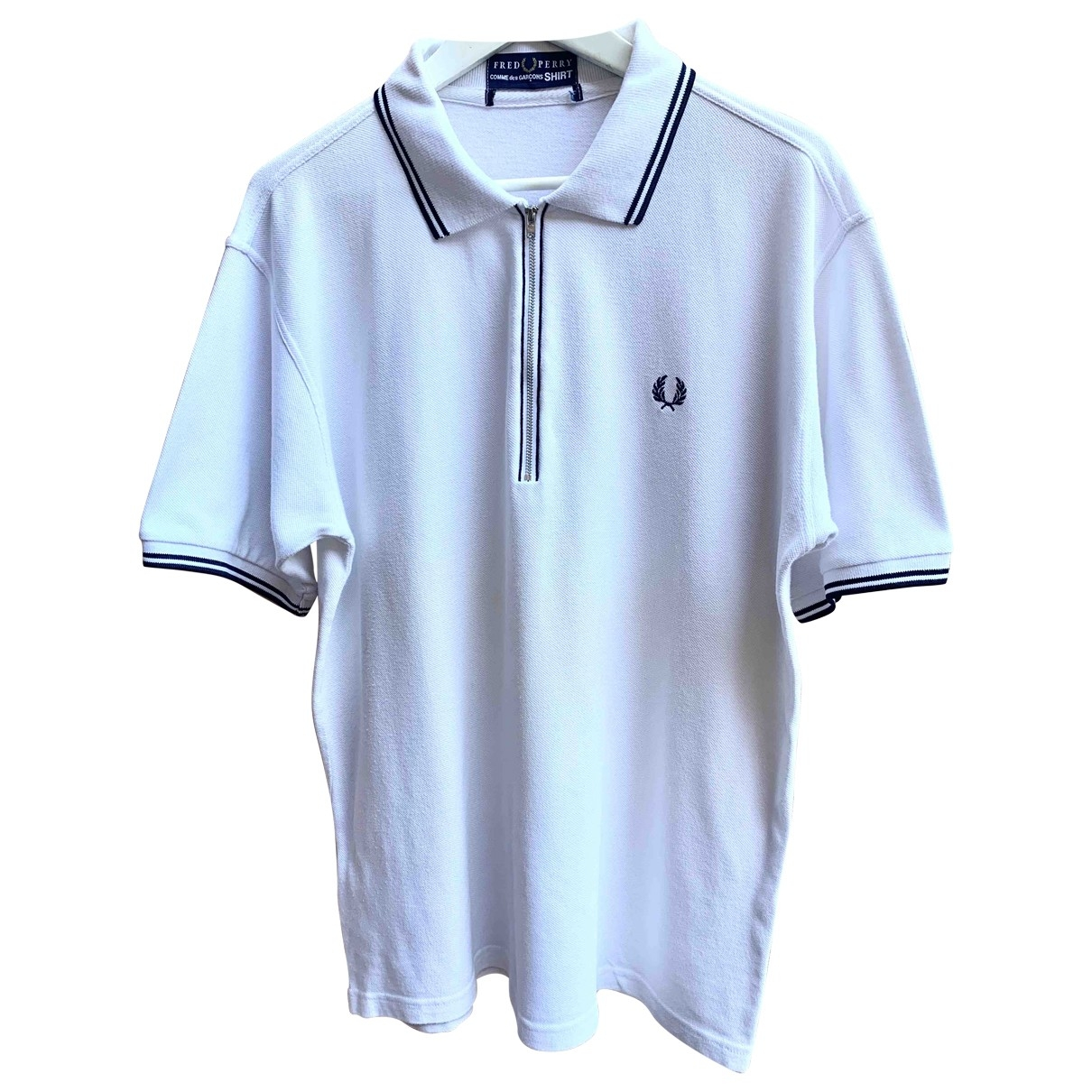 Fred Perry \N White Cotton Polo shirts for Men XL International