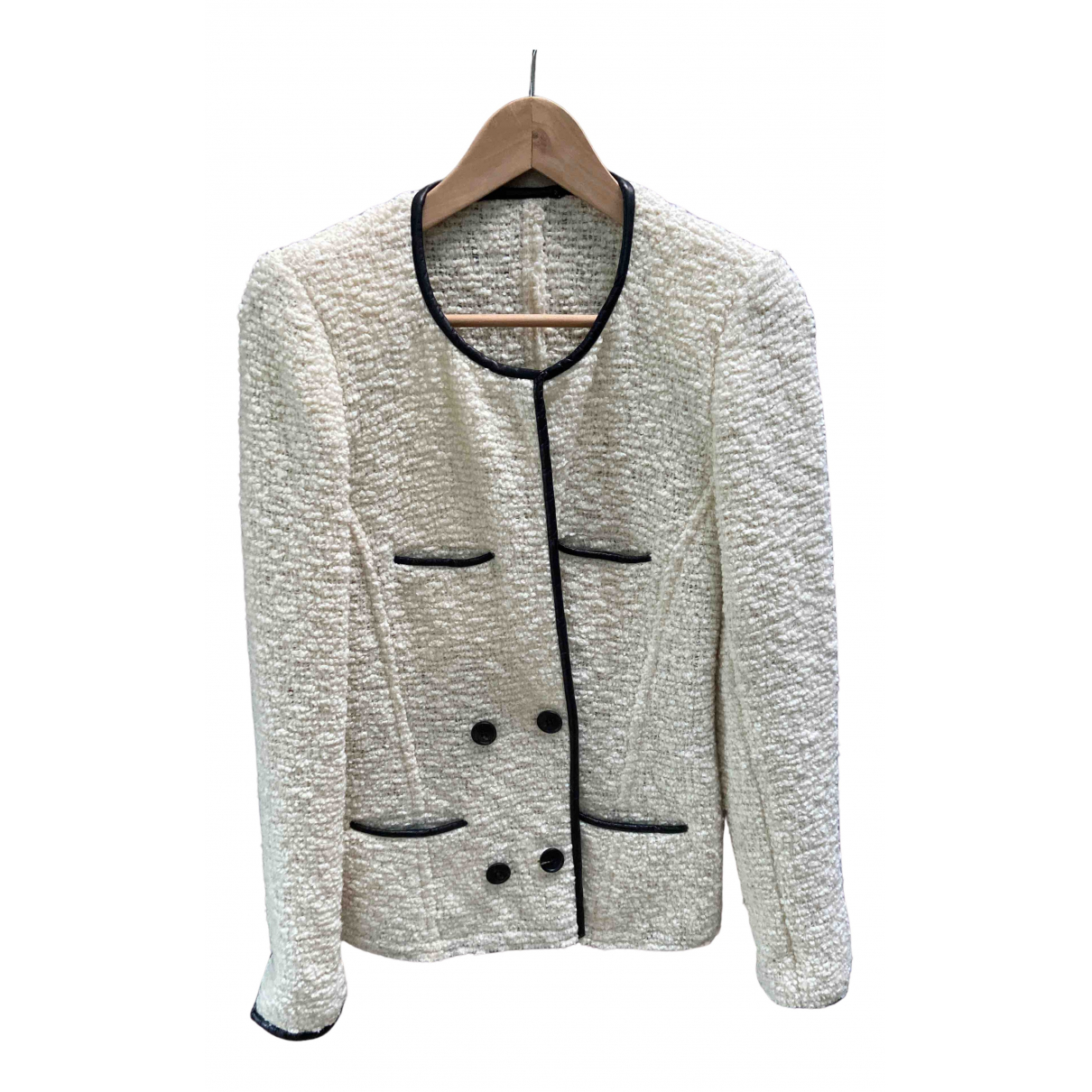 Isabel Marant - Veste   pour femme en laine - ecru