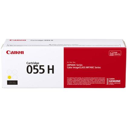 Canon 055 3017C001 cartouche de toner originale jaune haute capacit�
