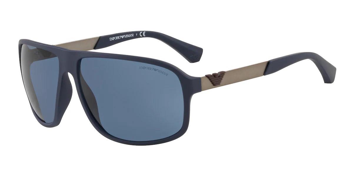 Emporio Armani EA4029 585280 Men's Sunglasses Blue Size 64