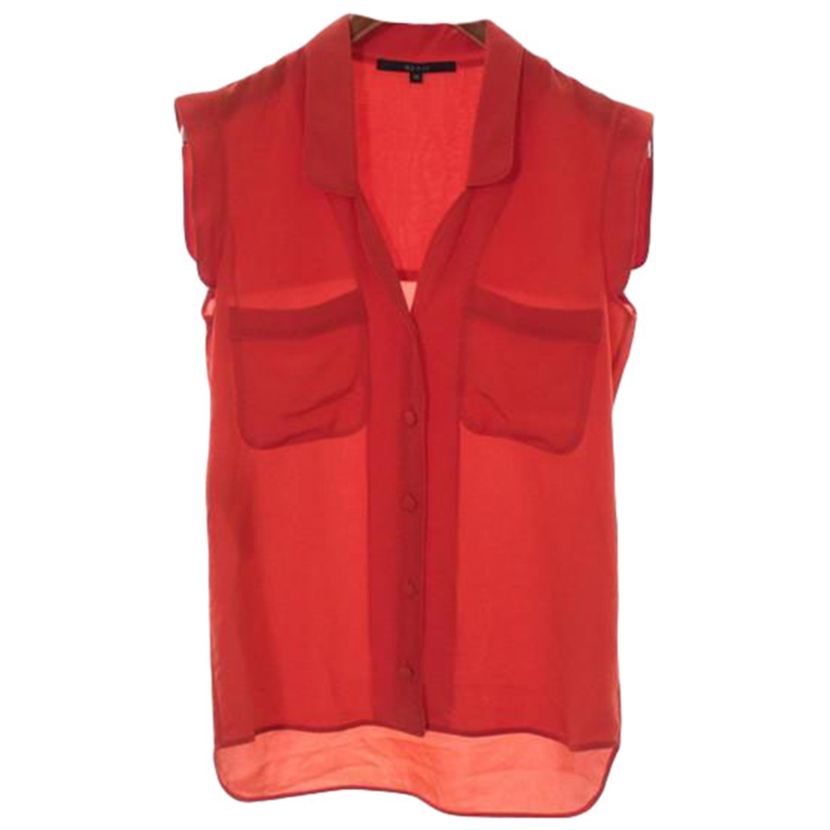 Gucci \N Orange Silk  top for Women 36 IT