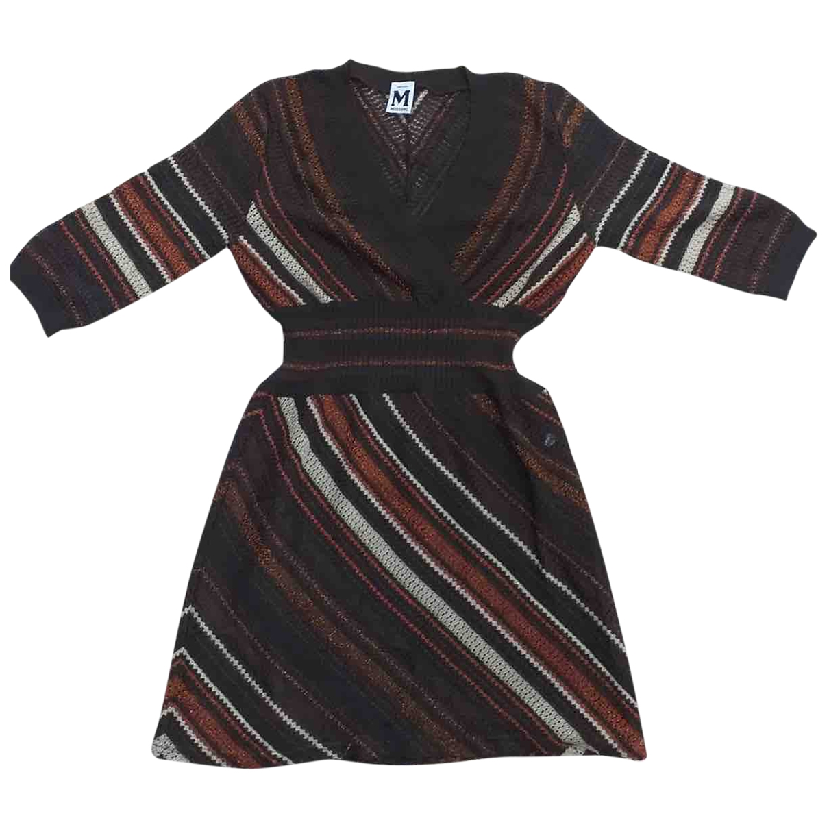 M Missoni \N Kleid in  Braun Polyester