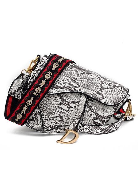 Milanoo Women\s Irregularly Shaped Cross Body Bag