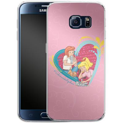 Samsung Galaxy S6 Silikon Handyhuelle - Bibi und Tina Schmusekaetzchen von Bibi & Tina
