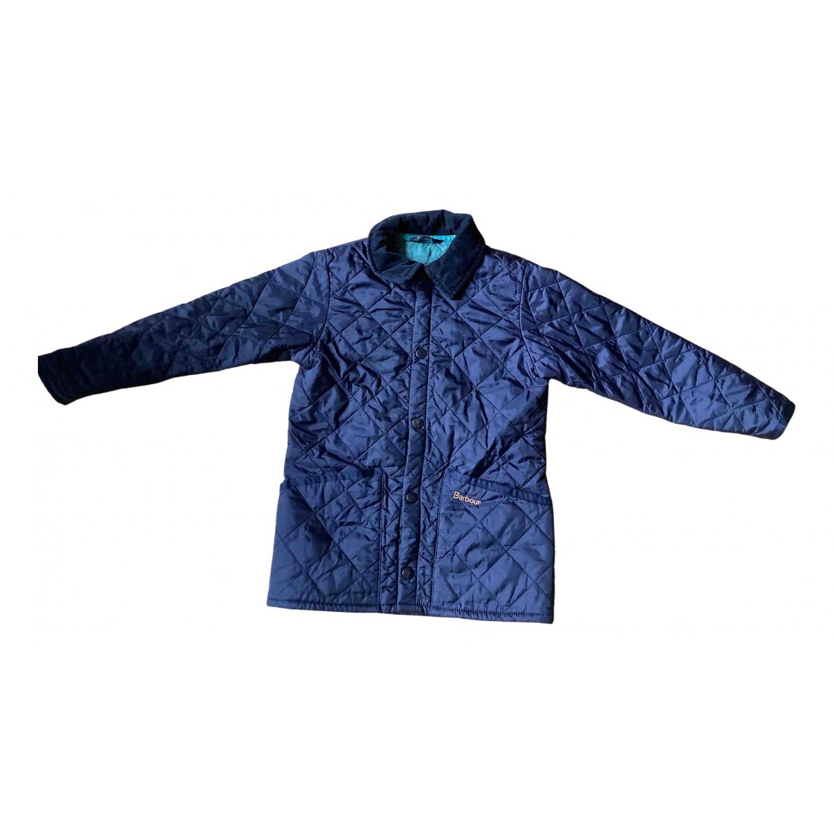 Barbour - Blousons.Manteaux   pour enfant - marine