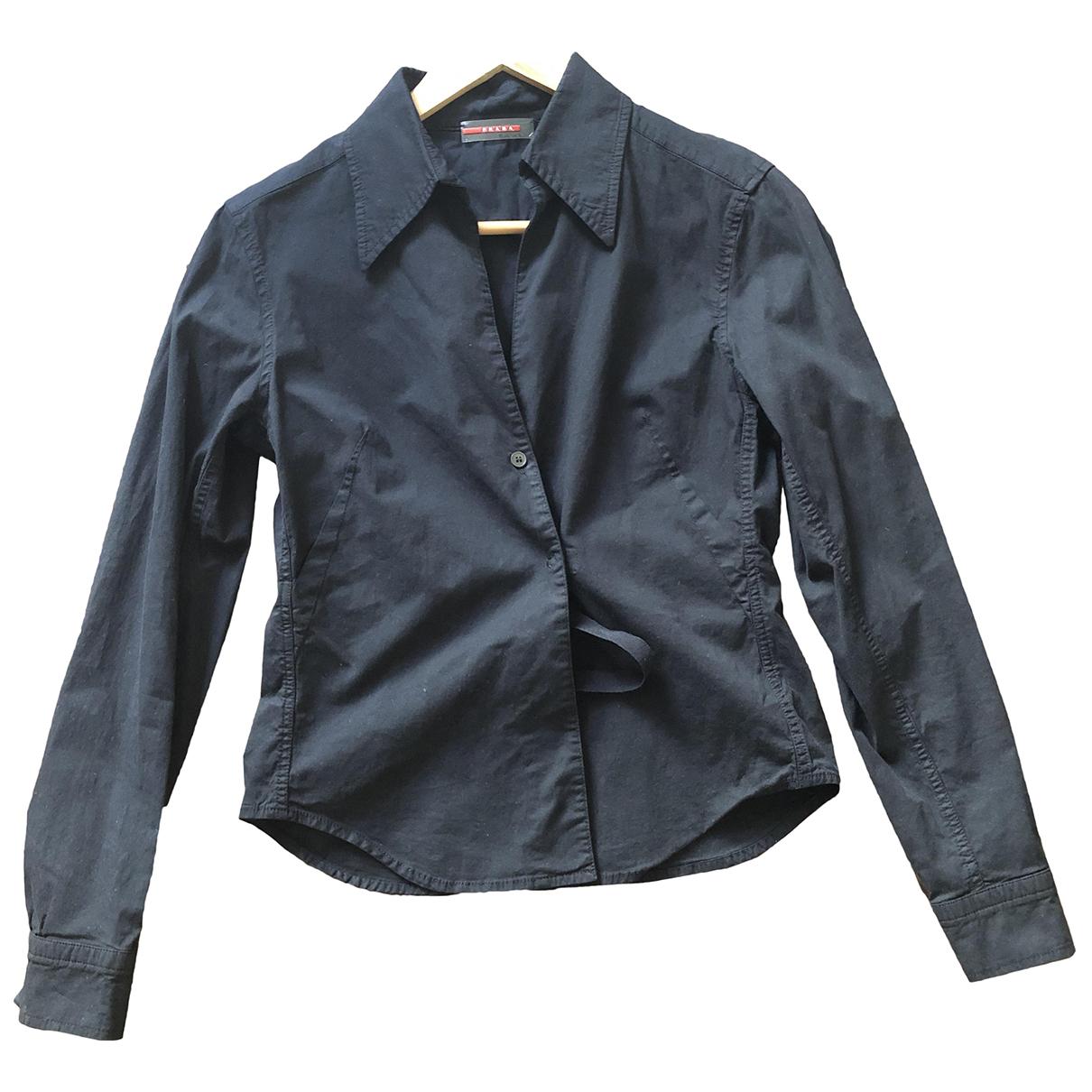 Prada \N Black Cotton  top for Women L International