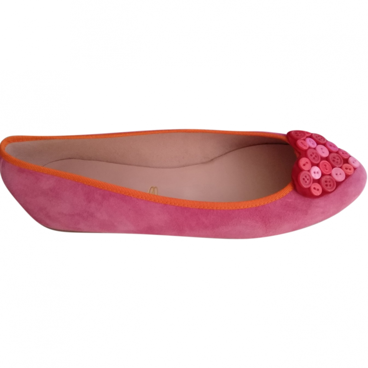 Pretty Ballerinas \N Multicolour Suede Ballet flats for Women 36 EU