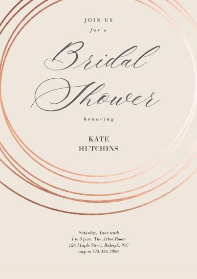 Bridal Shower 5x7 Cards, Premium Cardstock 120lb with Elegant Corners, Card & Stationery -Marvelous Matrimony Bridal Shower