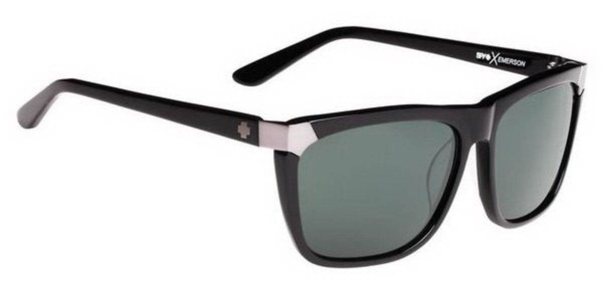 Spy EMERSON 673244038863 Women's Sunglasses Black Size 59
