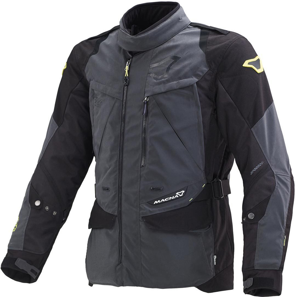 Macna Equator Night Eye Chaqueta Motorista Negra Oscuro L