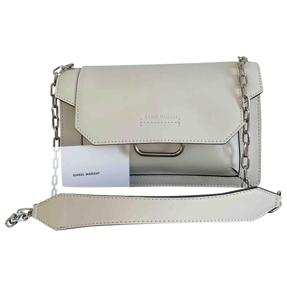 Isabel Marant \N White Leather handbag for Women \N