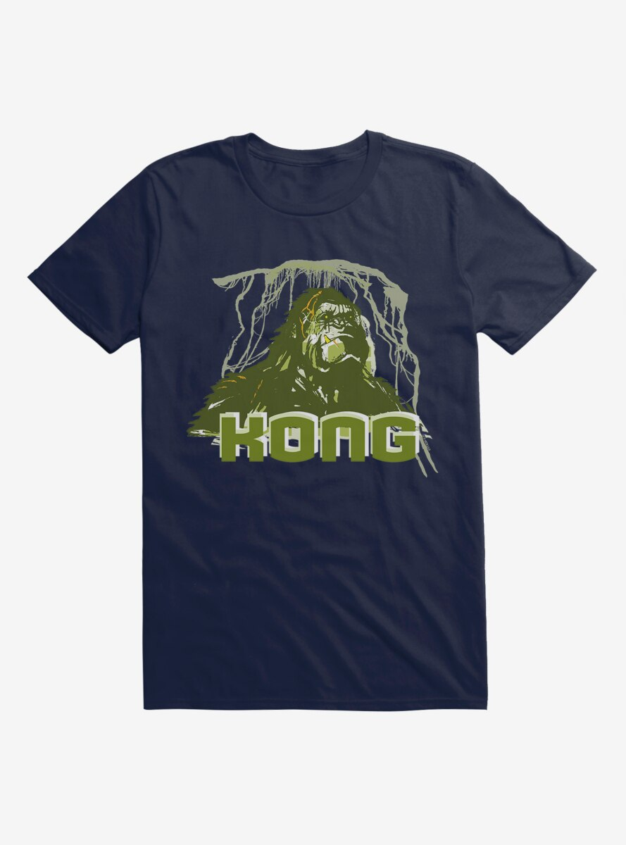 King Kong Green Close Up T-Shirt