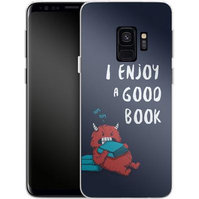 Samsung Galaxy S9 Silikon Handyhuelle - Good Book von Little Clyde
