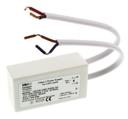 Intelligent LED Solutions ILS Constant Current LED Driver 8W 3 → 36V