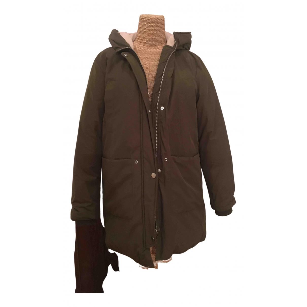 Zara - Blousons.Manteaux   pour enfant - kaki