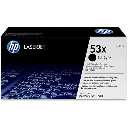 HP 53X Q7553X cartouche de toner originiale noire haute capacité