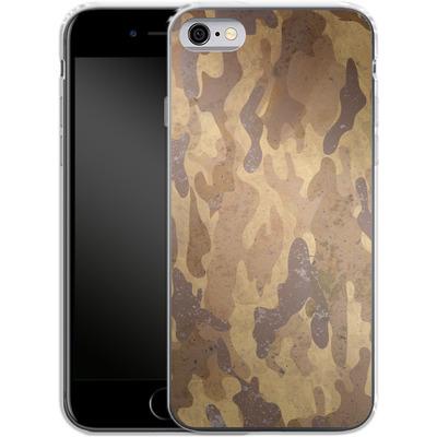Apple iPhone 6s Silikon Handyhuelle - Camo Bark von caseable Designs
