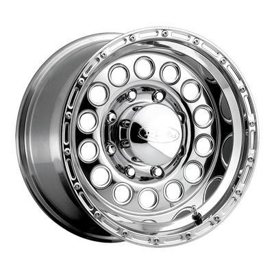 Raceline Wheels Rock Crusher, 17x9 with 8x6.5 Bolt Pattern - Chrome - 887-79080