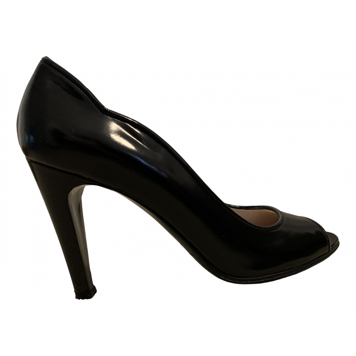 Marc By Marc Jacobs \N Pumps in  Schwarz Leder