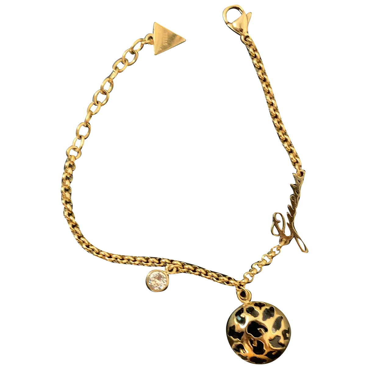 Guess \N Gold Gold plated bracelet for Women \N