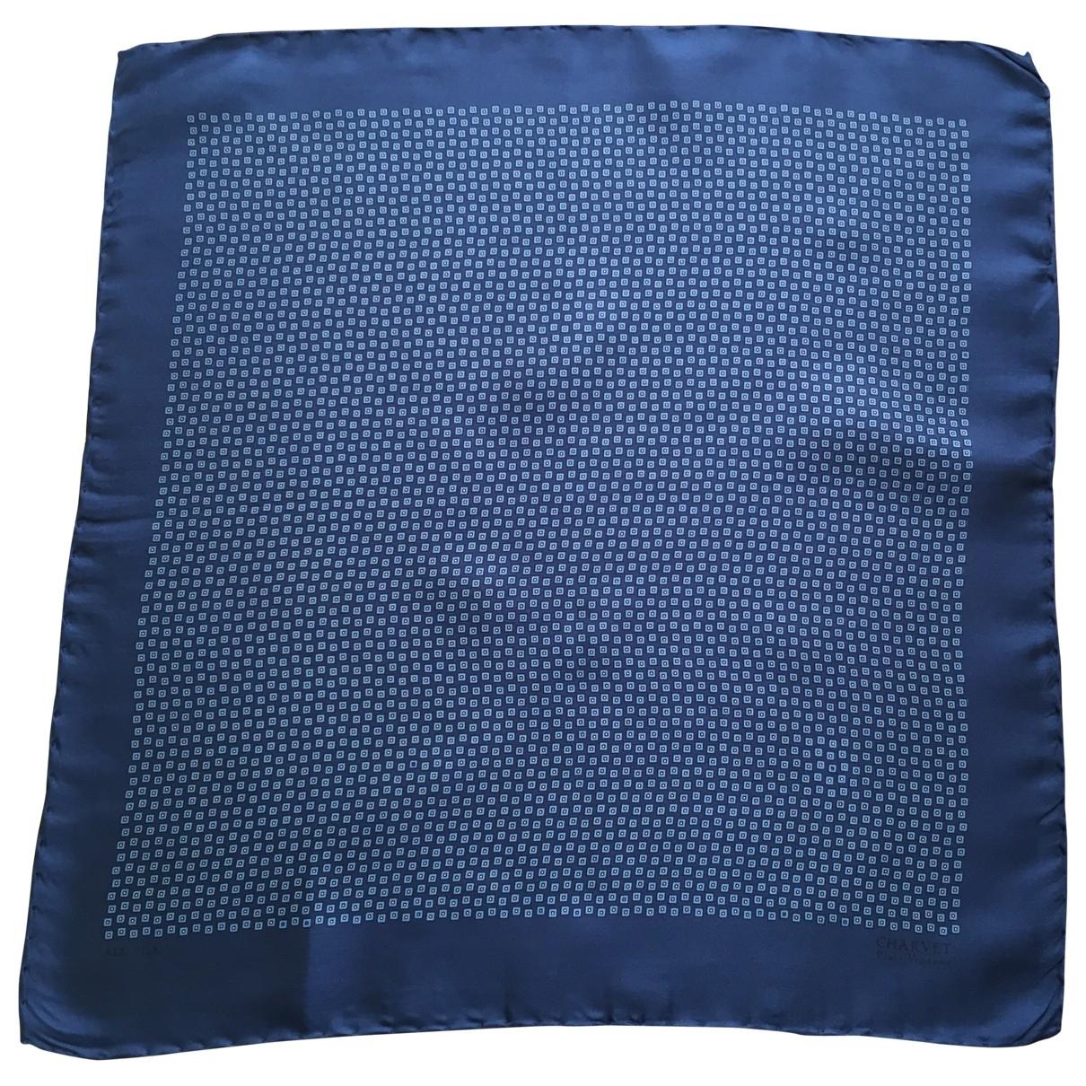 Charvet \N Krawatten in  Blau Seide