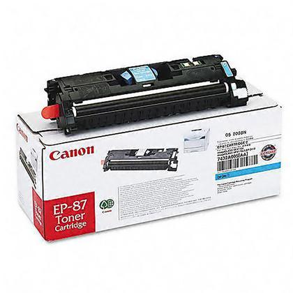 Canon EP87 cartouche de toner originale cyan