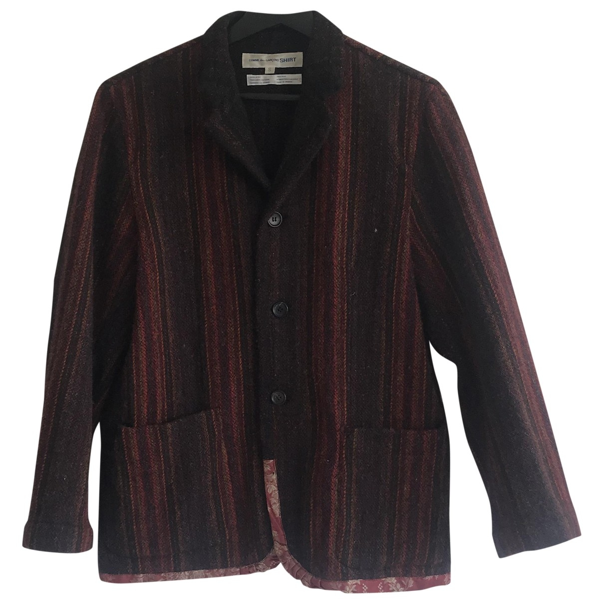 Comme Des Garcons \N Multicolour Wool jacket for Women S International