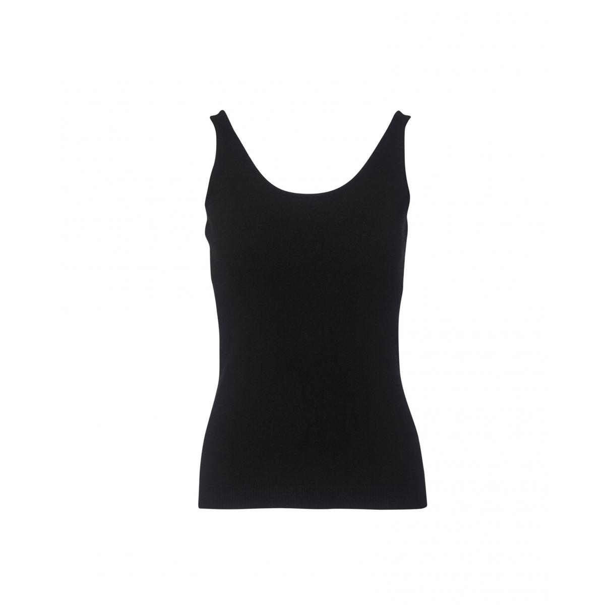 Ralph Lauren - Top   pour femme en laine - noir