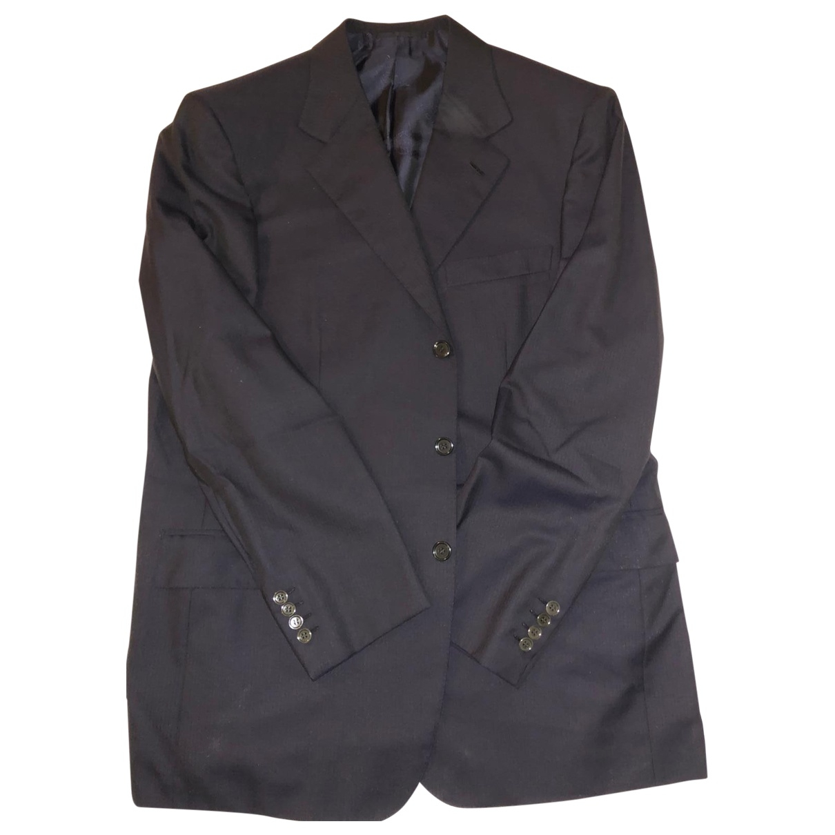 Brioni \N Blue Wool Suits for Men 52 IT