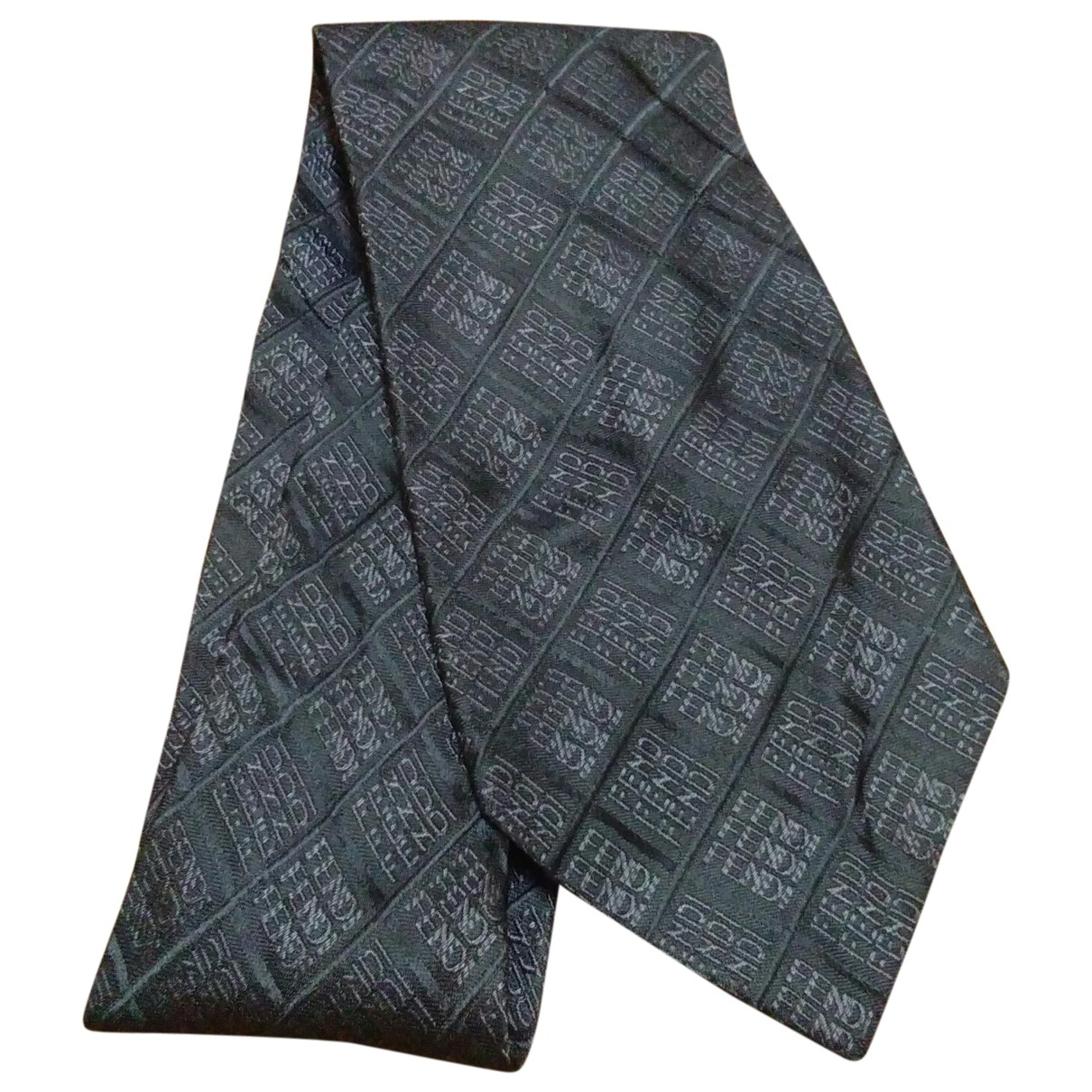 Corbata de Seda Fendi