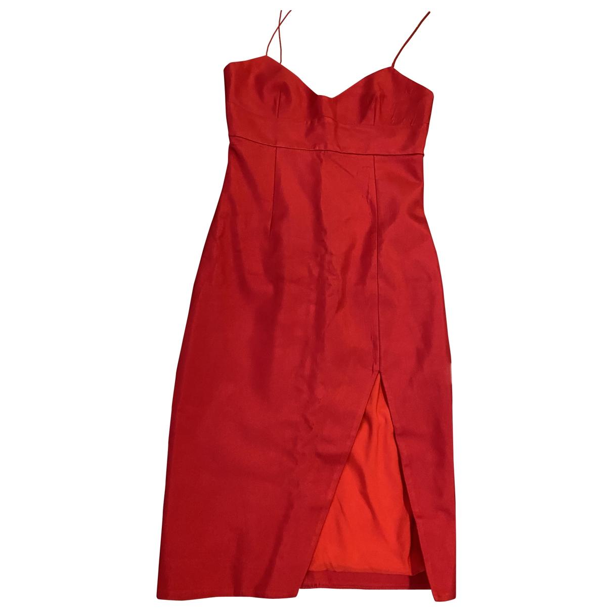 Nicholas \N Kleid in  Rot Polyester