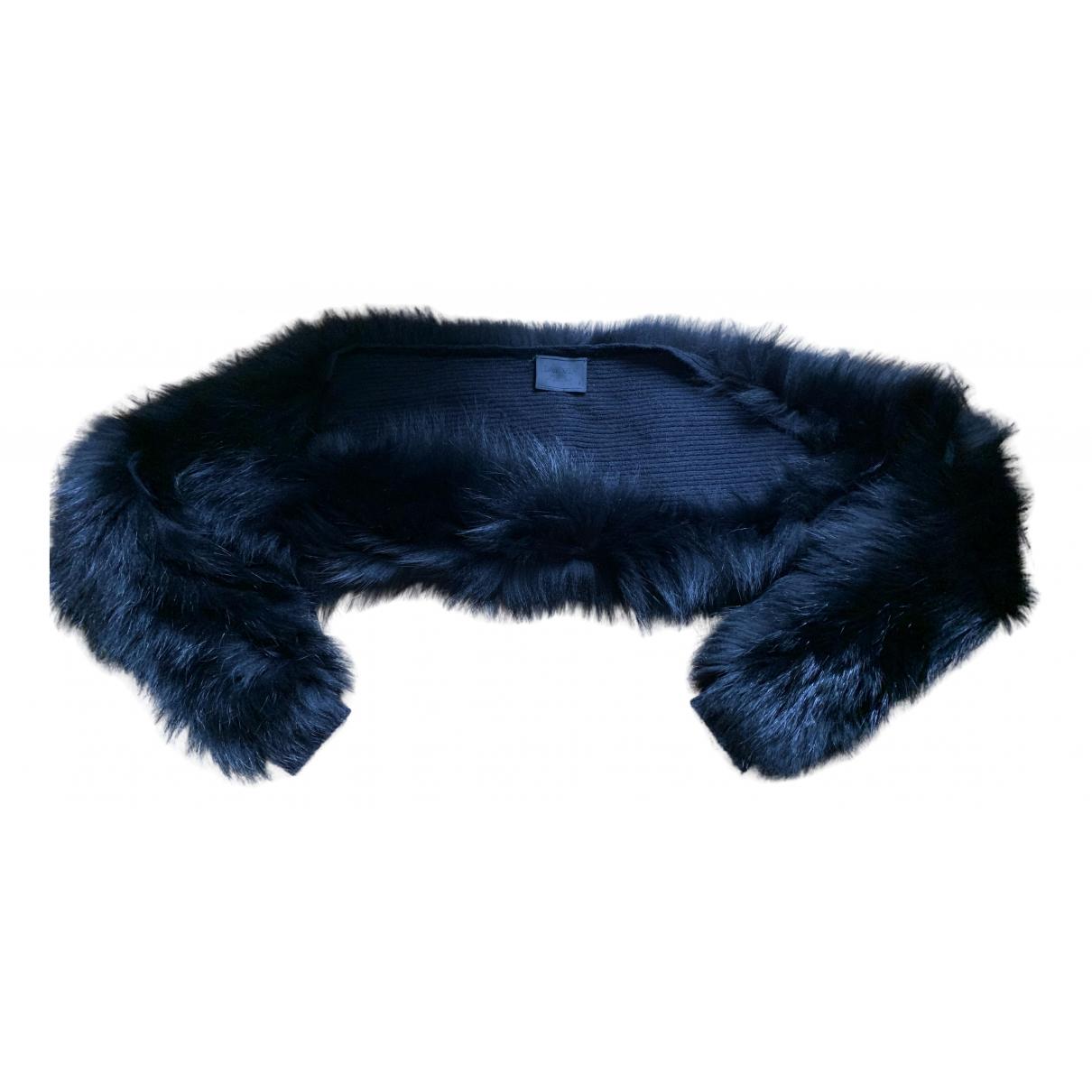 Lanvin N Black Fox Knitwear for Women 36 FR