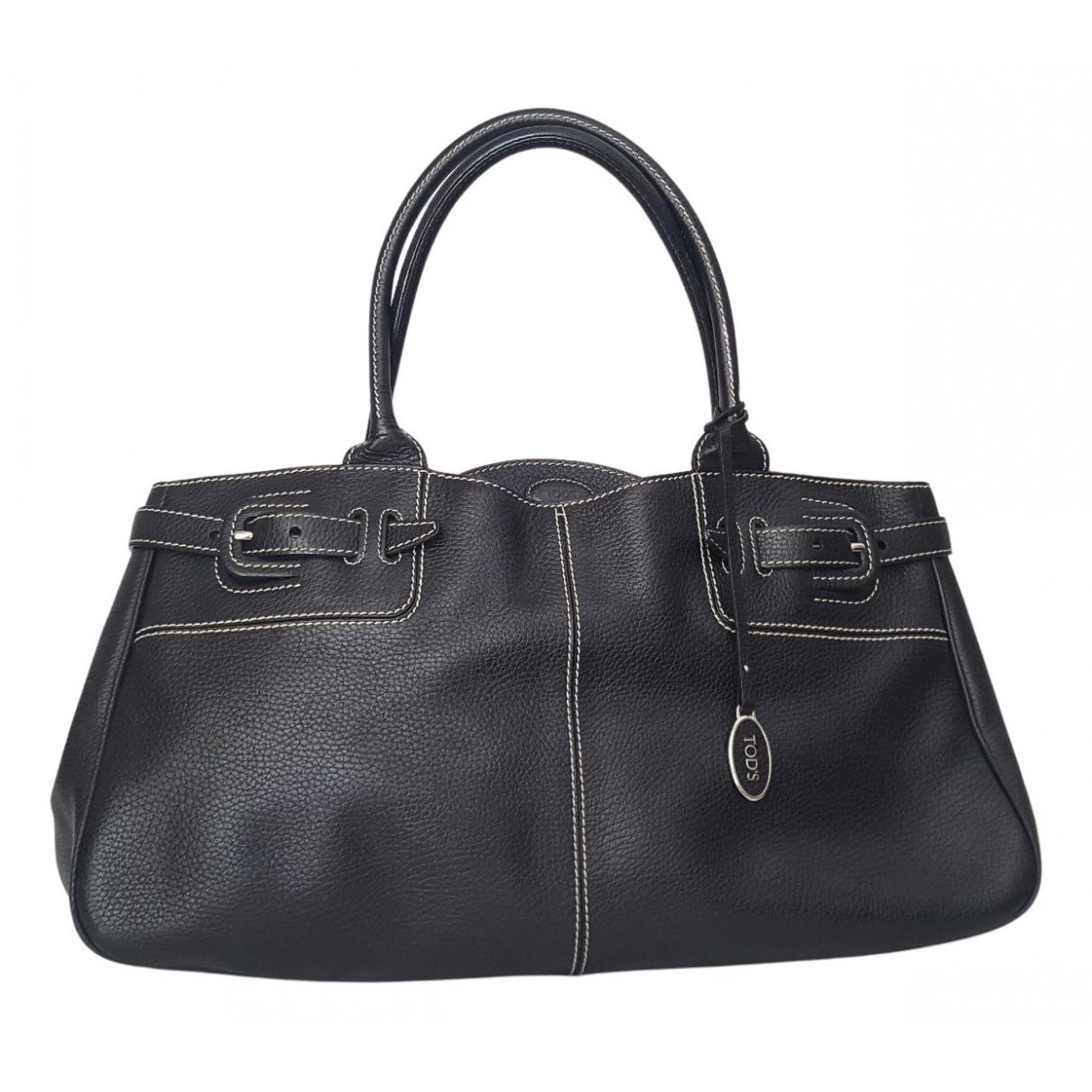 Tod's N Black Leather handbag for Women N