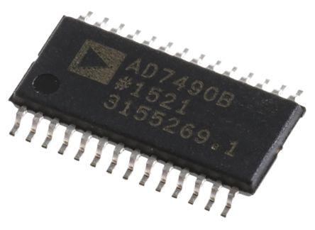 Analog Devices AD7490BRUZ, 12-bit Serial ADC, 28-Pin TSSOP